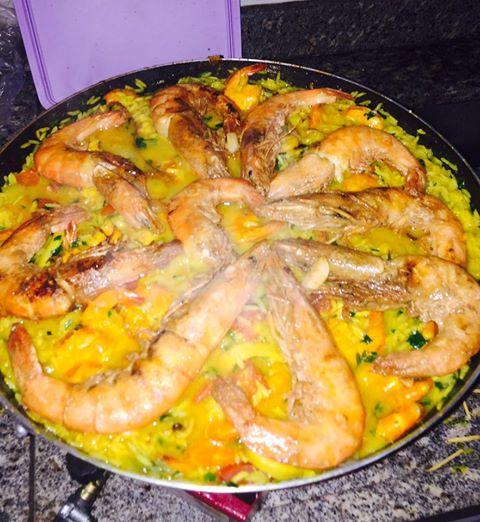 Receita de Paella de Frutos do Mar da Quali Fish