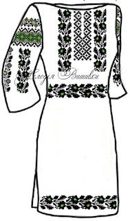 Заготовки для вишивки бісером або нитками борщівських вишиваних сорочок. 4e6c056c37f30