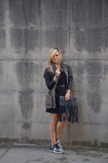 army jacket how to wear army jacket october outfit  mariafelicia magno fashion blogger web influencer italiane