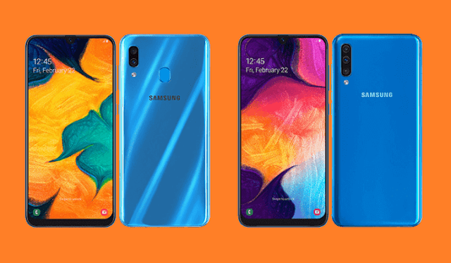 Samsung Galaxy A30 and Galaxy A50 now official