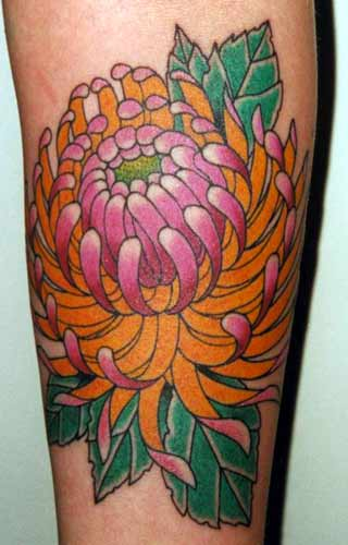 flower tattoos collections: Japanese Floral Tattoos