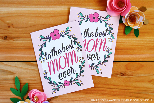 Free Printable To The Best Mom Ever Mother\u0027s Day Card - Minted