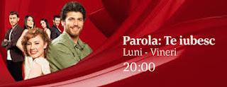 Urmariti acum serialul Parola Te Iubesc episodul 34 din 10 August 2017 Online Gratis Subtitrat in Premiera