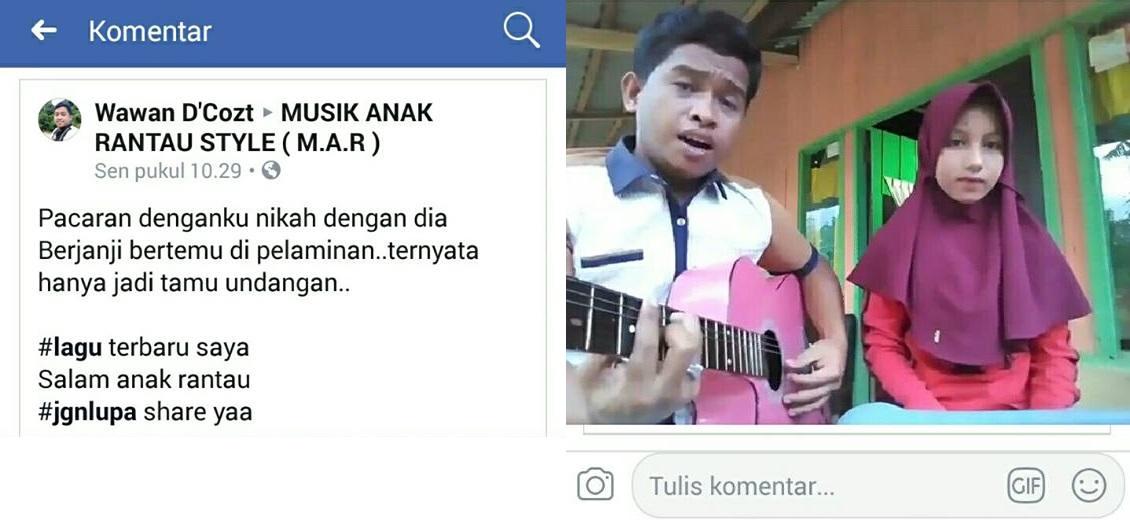 Viral di Facebook Lagu Menjaga Jodoh Orang