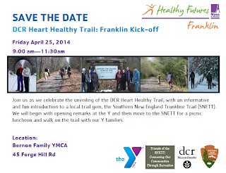 DCR Heart Healthy Trails - Franklin Kick off