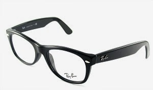 Clear Lens Ray-Ban Wayfarer Glasses