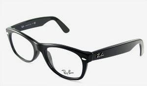 Clear Lens Ray-Ban Wayfarer Glasses