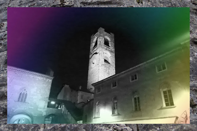 Weekend City Break in Bergamo Italy: Tower at Curfew Time