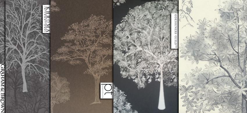 Magdalena Sobula Subiektywnie O Wnętrzach Tapety Drzewa Część Pierwsza