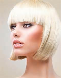 Platinum Filled Bob Hairstyle