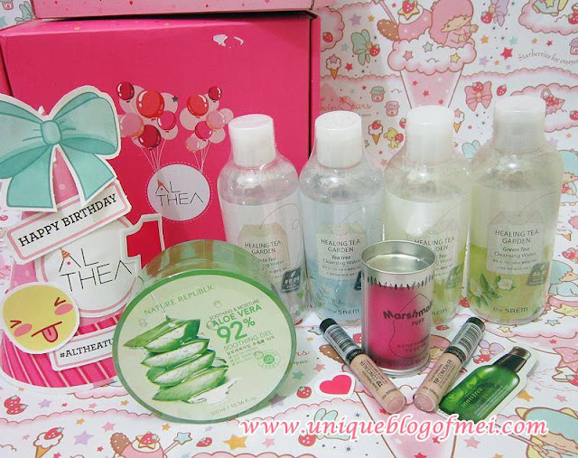 Althea Korea Haul #AltheaTurns1