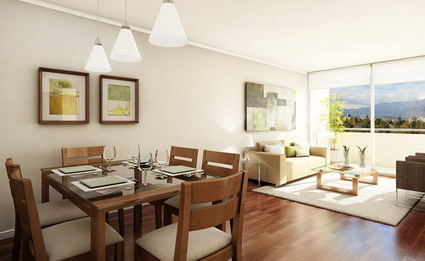 5 tips for integrating the living room and dining room 5