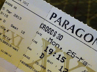 Gambar tiket bioskop XXI