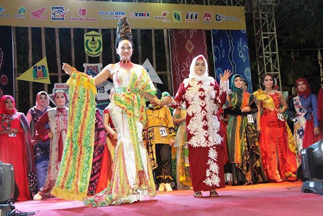 Banjarmasin Sasirangan Festival 2018, Kain Sasirangan Akan Pecahkan Rekor MURI