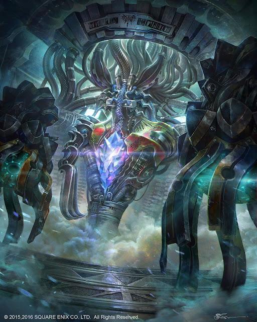 anima; Jeremy Chong; mobius final fantasy