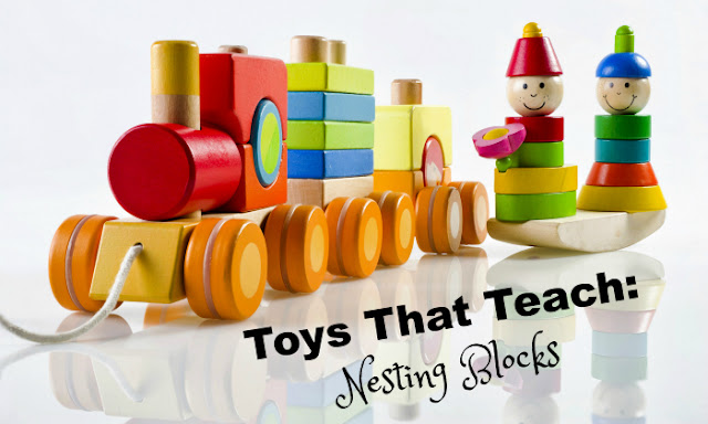 Toys for toddlers and preschoolers: Nestling Blocks