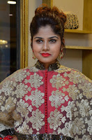 Anya South Actress model in Red Anarkali Dress at Splurge   Divalicious curtain raiser ~ Exclusive Celebrities Galleries 004.JPG