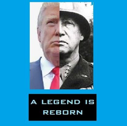Image result for george patton donald trump