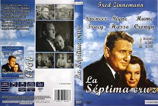 Carátula DVD: La séptima cruz (1944)