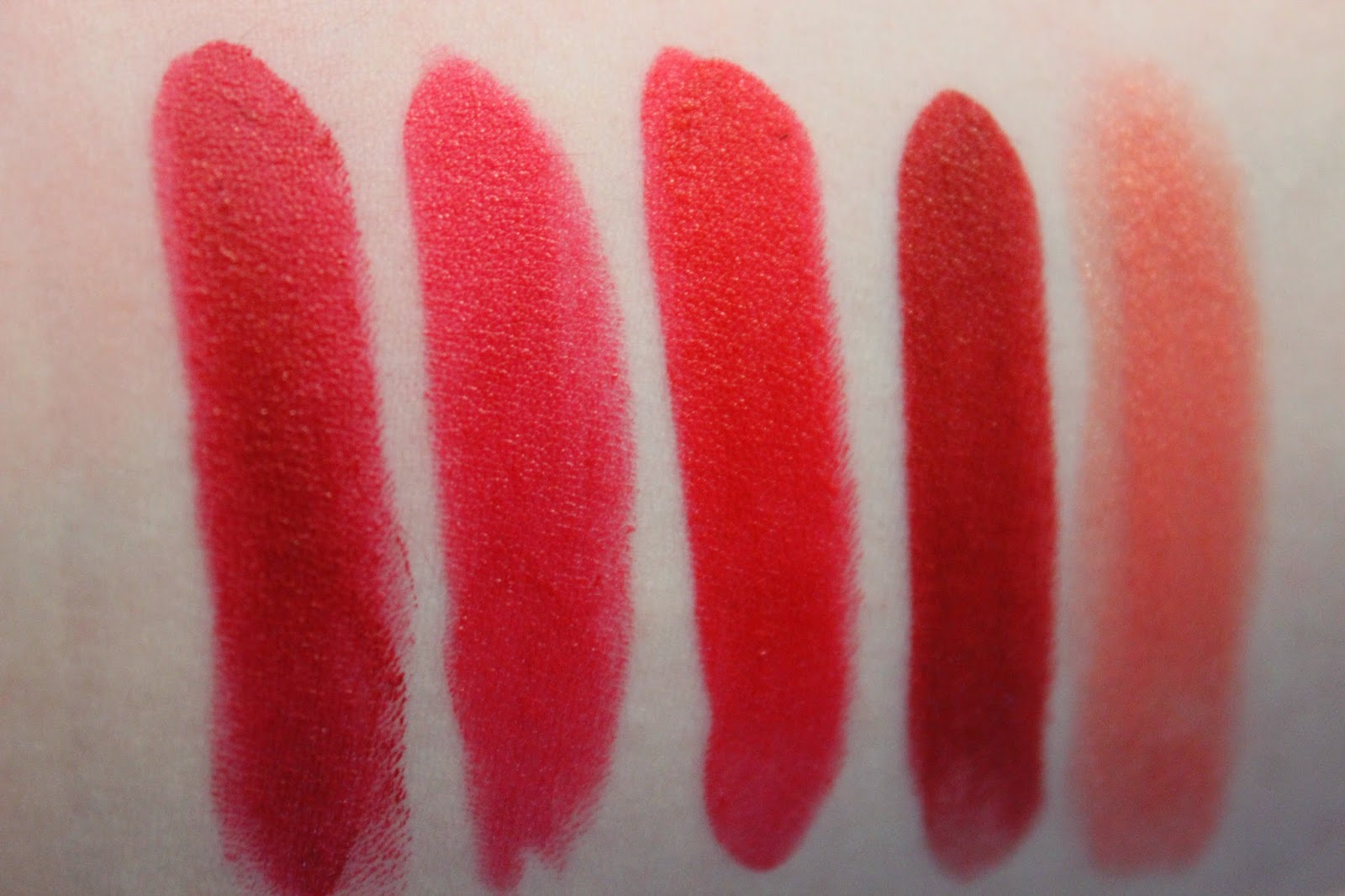 Christina Martina Ulta Collection Lipstick Swatches And