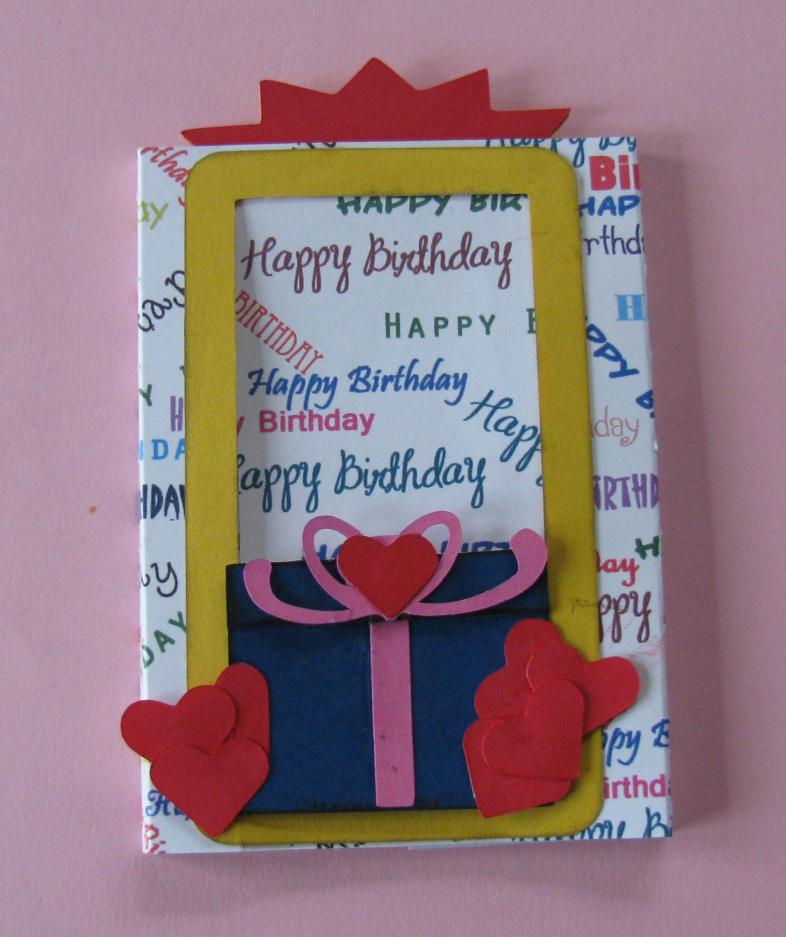 CreativeKuts2: Birthday Surprise Slider Card & Tutorial Video