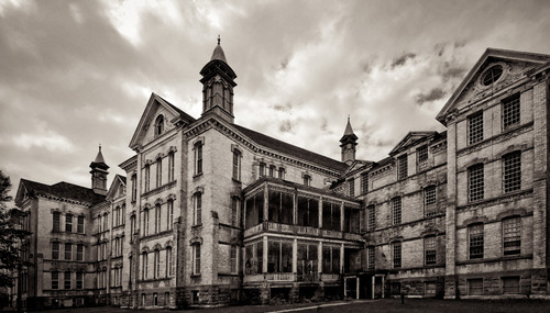haunted traverse city state hospital in Michigan