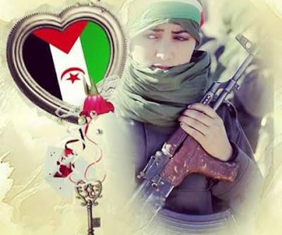 Sahara Occidental. Ljadra Mint Mabruk: Soy del desierto del Sahara nacional, a pesar de todos los cobardes