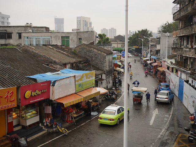 Minzu East Road (民族东路) in Zhongshan