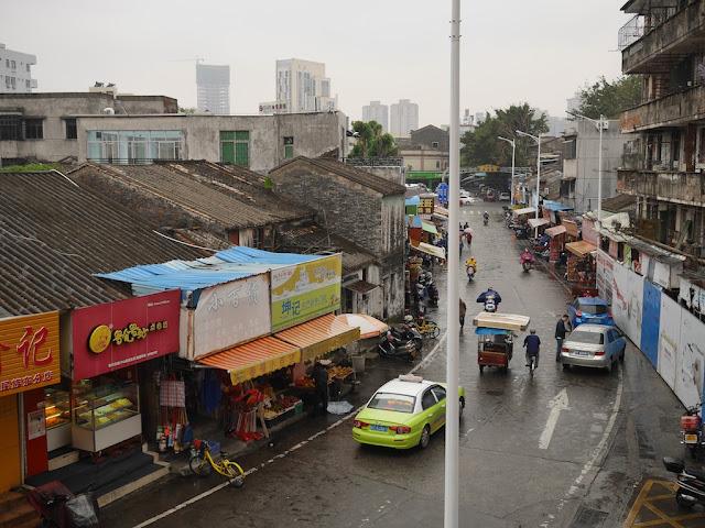 Minzu East Road (民族东路) in Zhongshan