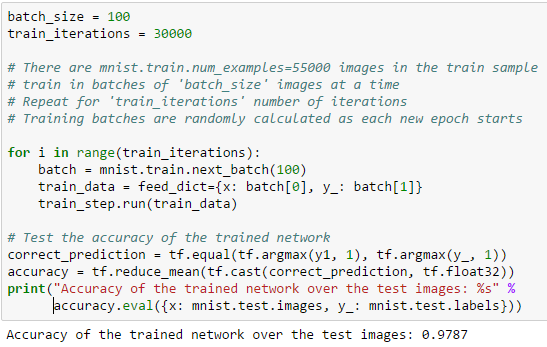 A neural network scoring engine in PL/SQL for recognizing