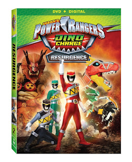 DVD Review - Power Rangers Dino Charge: Resurgence