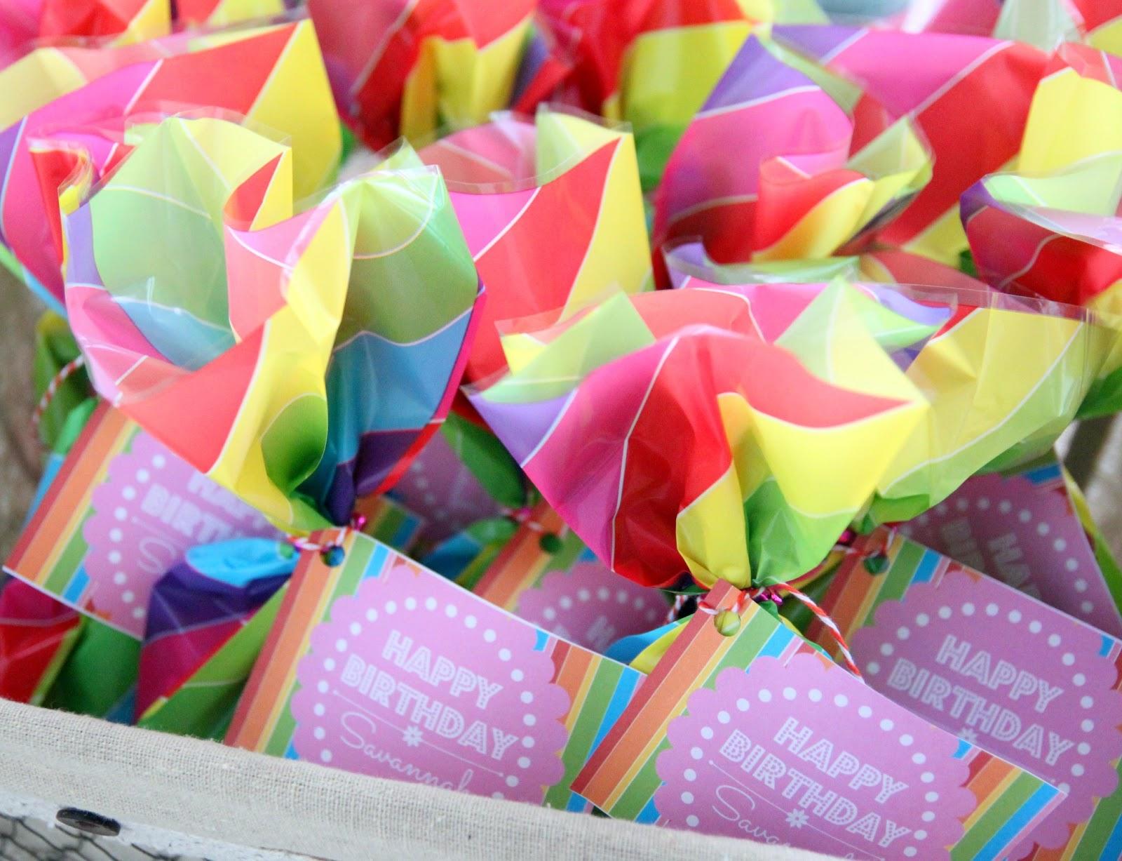Rainbow Unicorn Birthday Party With Free Printables