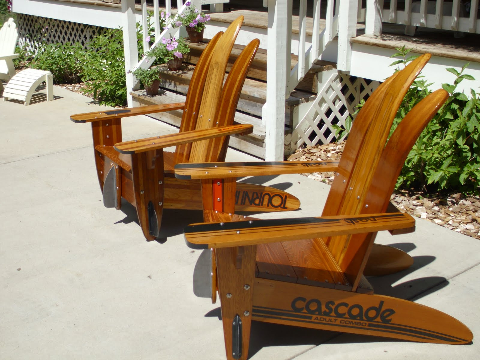 Vendor Profile: Vintage Water Ski Chairs!  Junk Bonanza