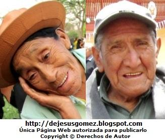Foto de sonrisas de abuelos o ancianos. Foto de sonrisas tomada por Jesus Gómez