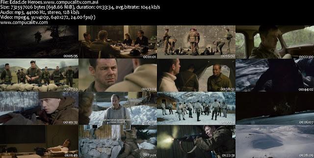 Age of Heroes DVDRip Español Latino Descargar 1 Link 2011