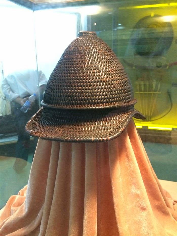 Koxinga Rattan Helmet