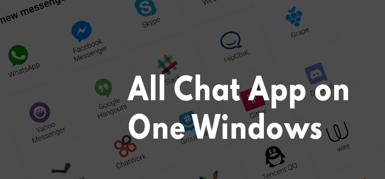 Chatting App in One Tab