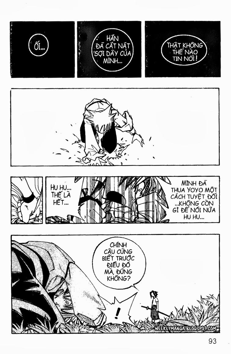 Shaman King [Vua pháp thuật] chap 88 trang 18