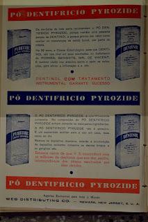 Página com anúncio do dentifrício Pyrozide