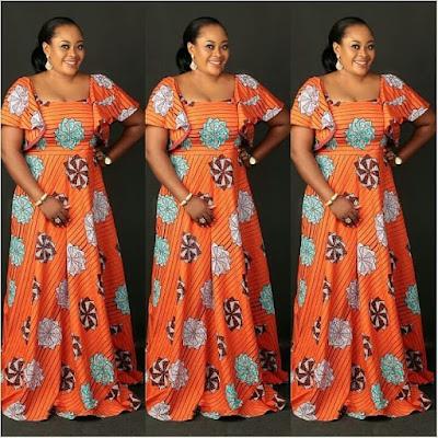 STYLISH LONG ANKARA KAFTANS & MAXI  DRESSES FOR EVERY WOMAN