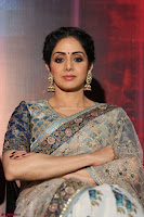 Sri Devi in designer saree stunning beauty at the launch of MOM movie Trailer~  Exclusive 088.JPG