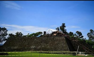 Καταστροφικός σεισμός οδήγησε στην ανακάλυψη αρχαίου ναού στο Μεξικό