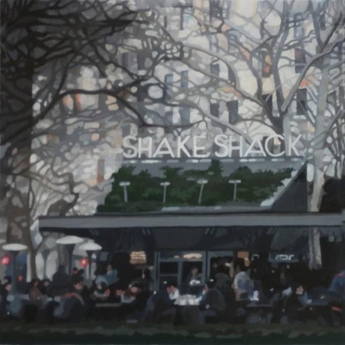 Итальянская художница. Romana Marzaduri