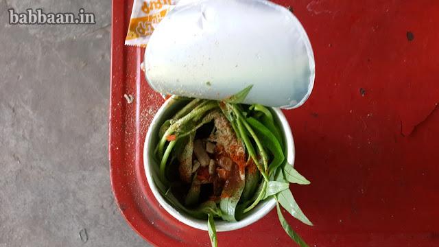 รสชาติของผักบุ้งที่ปลูกในตระกร้าอร่อยไม่แพ้ปลูกจากดิน