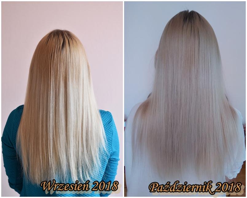metamorfoza włosów przed i po