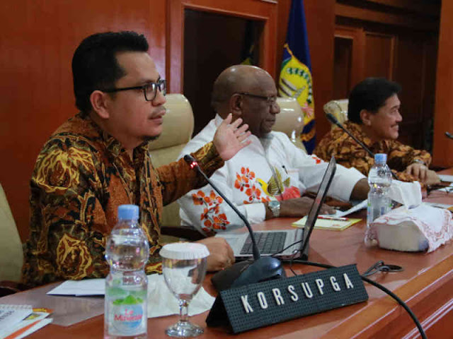 KPK Ingatkan Oknum ASN Di Papua Tak Menyimpang Soal Aset