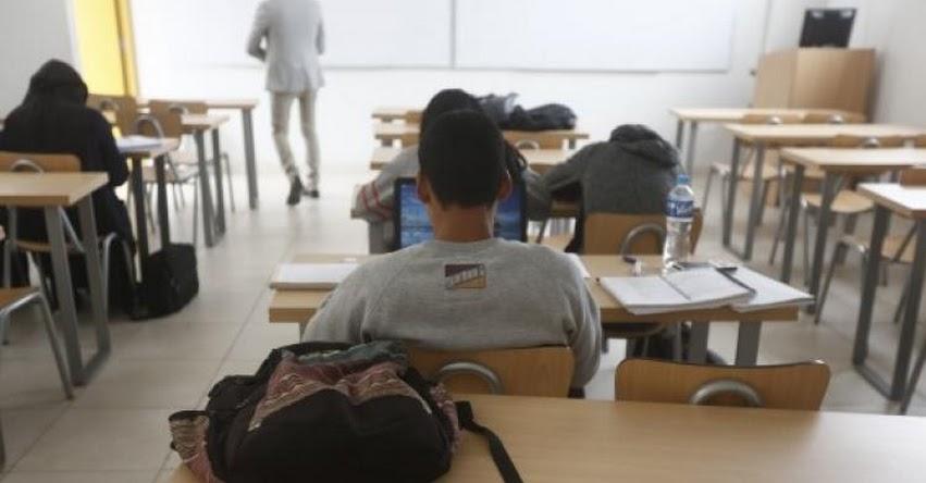 Estudiantes de institutos podrán migrar a escuelas superiores para obtener bachillerato, informó el Ministerio de Educación - MINEDU