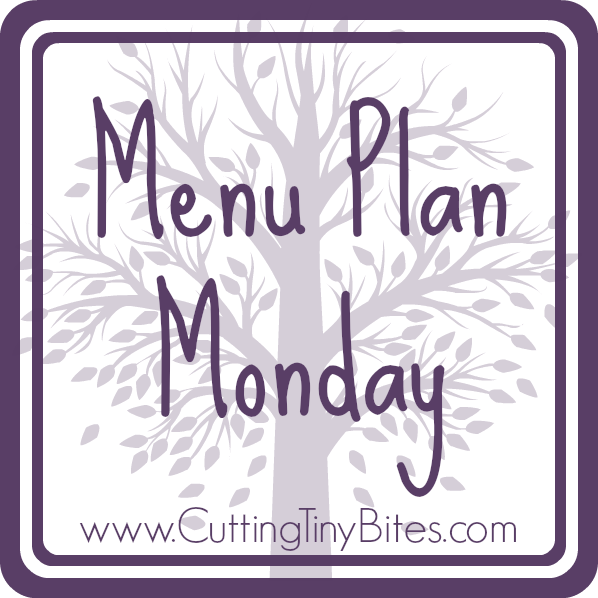 vegetarian menu plan monday
