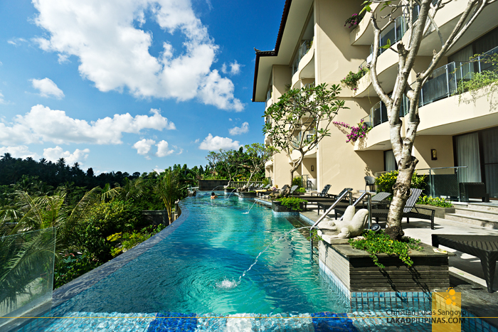 Seres Springs Resort Ubud Bali Infinity Pool