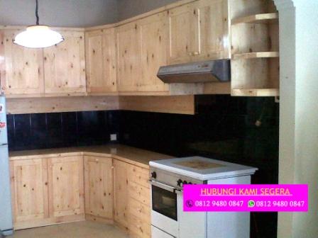 Jasa Kitchen Set Jati Belanda Margonda Hub 0812 9480 0847 Desain